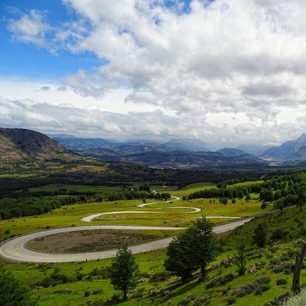 The Devil's Curves takes us down to Villa Cerro Castillo, the last bit before the gravel road begins.