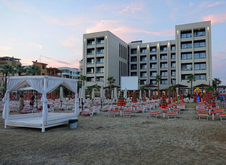 Hotel Royal G in Durrës, Albania. Five Albanian stars!