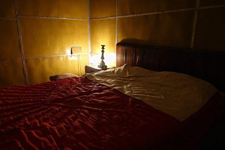 Enver Hoxha's bedroom at the Bunk'Art museum in Tirana, Albania.