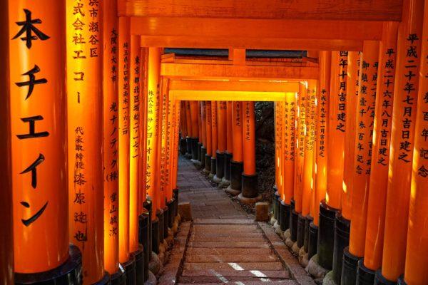 Orange bliss at Inari.