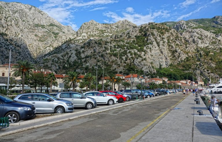 From the port in Kotor, Montenegro.