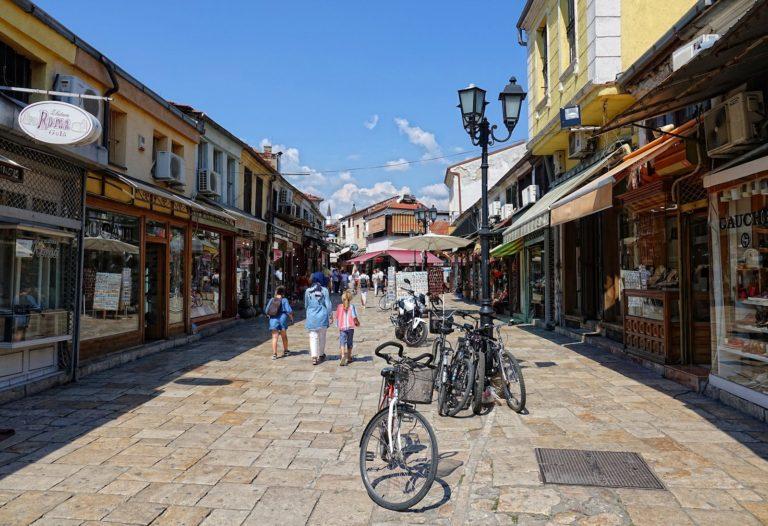 The Old Bazaar in Skopje, Macedonia.