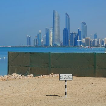 Abu Dhabi is open for visitors, sort of.