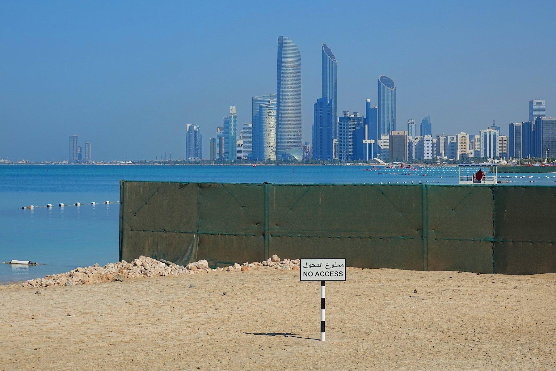 Not too shabby in Abu Dhabi
