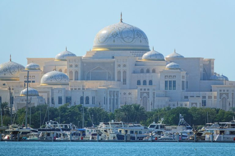 The Abu Dhabi Presidential Palace.