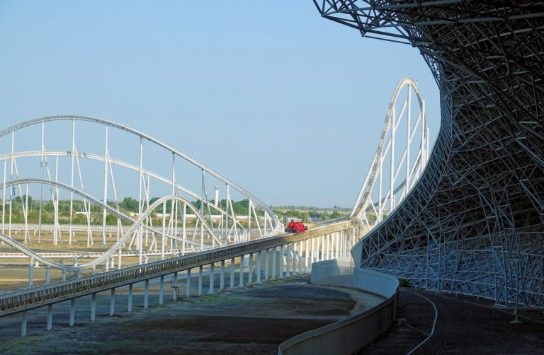 Formula Rossa is the fastest rollercoaster in the world, at 240 kilometers per hour.