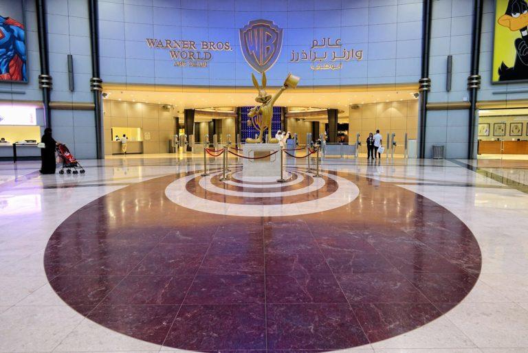 Bugs Bunny welcomes you to Warner Bros World, Abu Dhabi.
