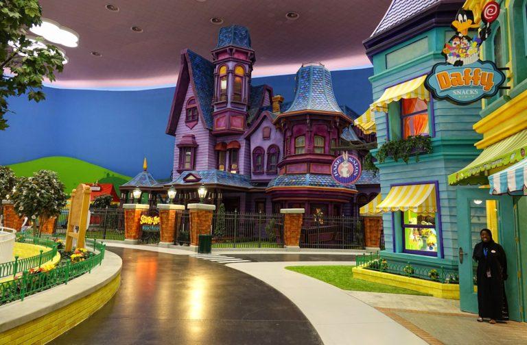Cartoon Junction in Warner Bros World, Abu Dhabi.