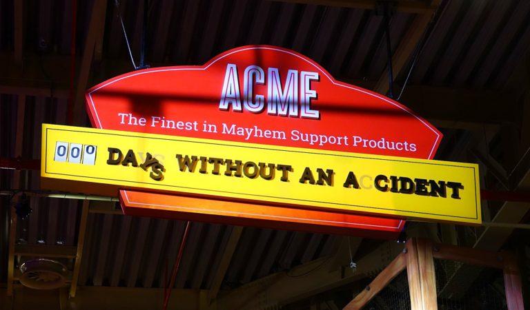 Mayhem at ACME.