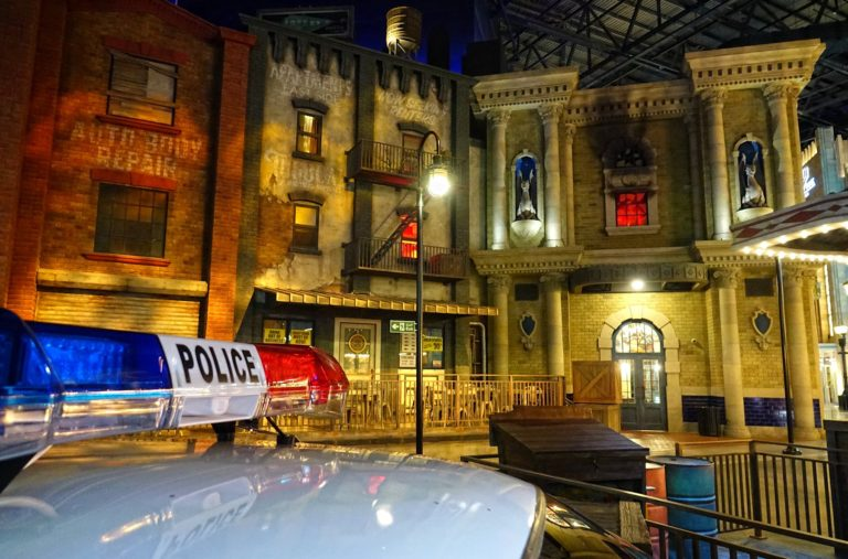 Gotham City as seen in Abu Dhabi.