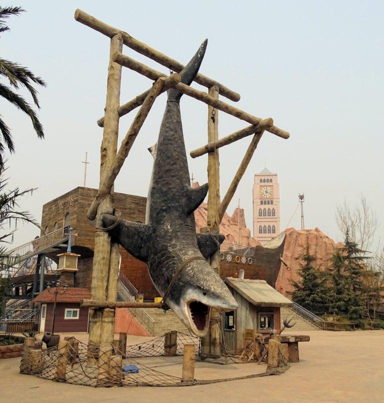 Not Jaws at Beijing Shijingshan Amusement Park