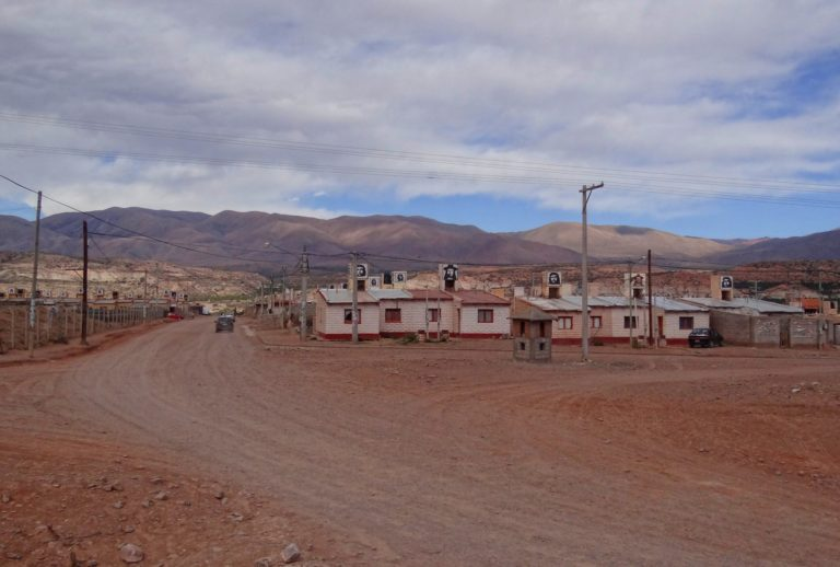 Border town in Jujuy, northern Argentina.