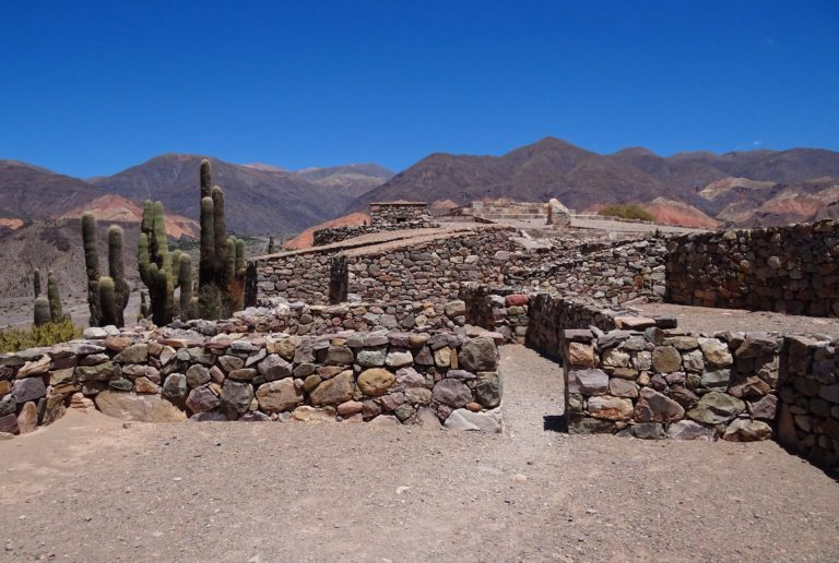 Inca buildings in Tilcara, Jujuy, Argentina.