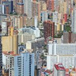The colorful concrete jungle of Benidorm.