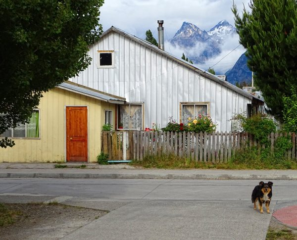 House in a small village in Chile.