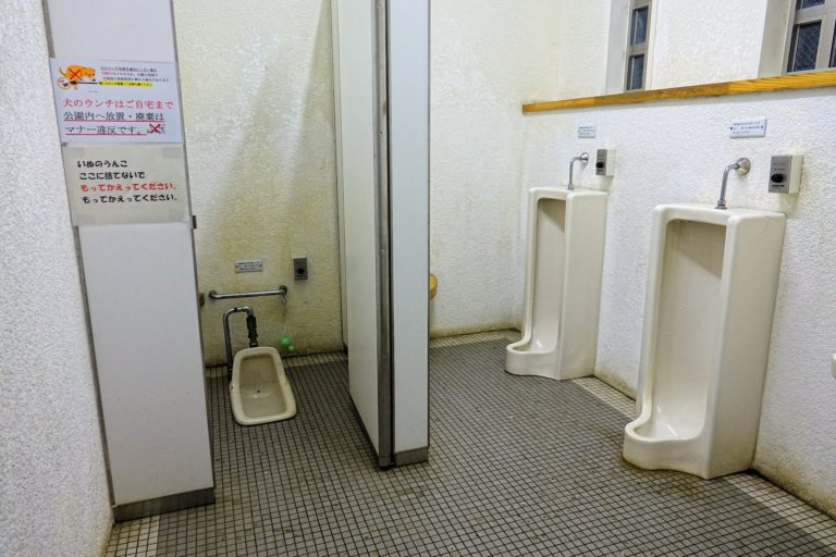 Not all toilets in Japan are straight out of science fiction.