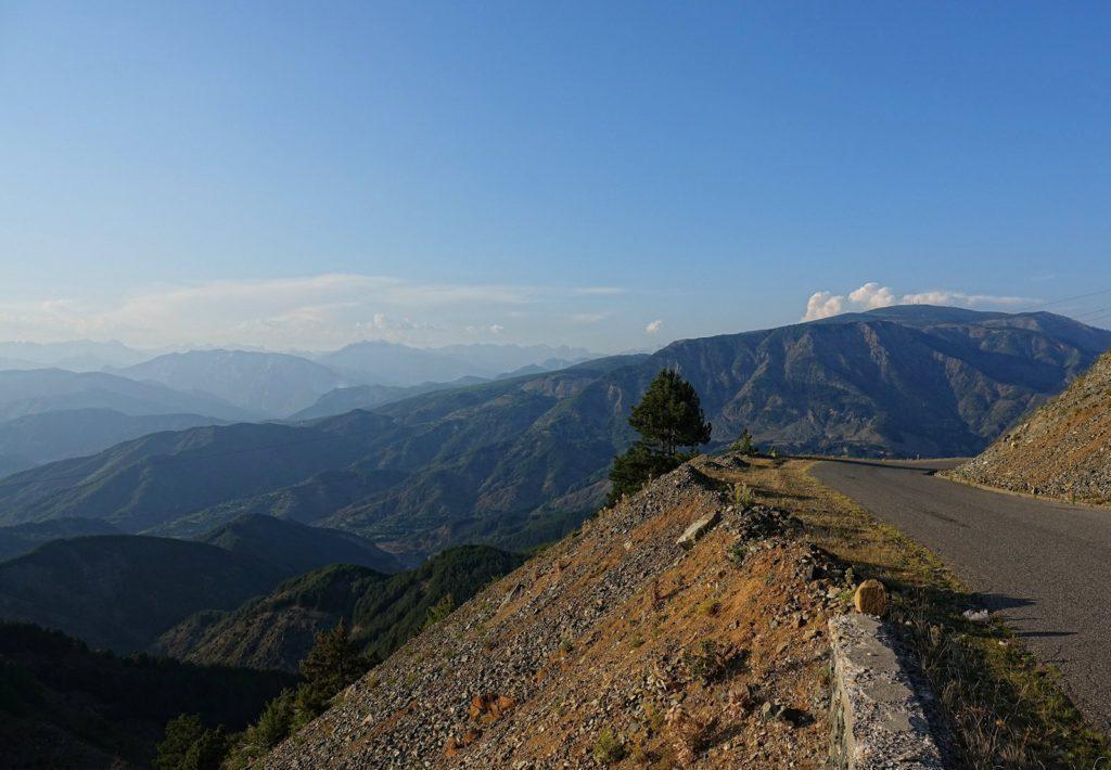 The road to Valbonë.