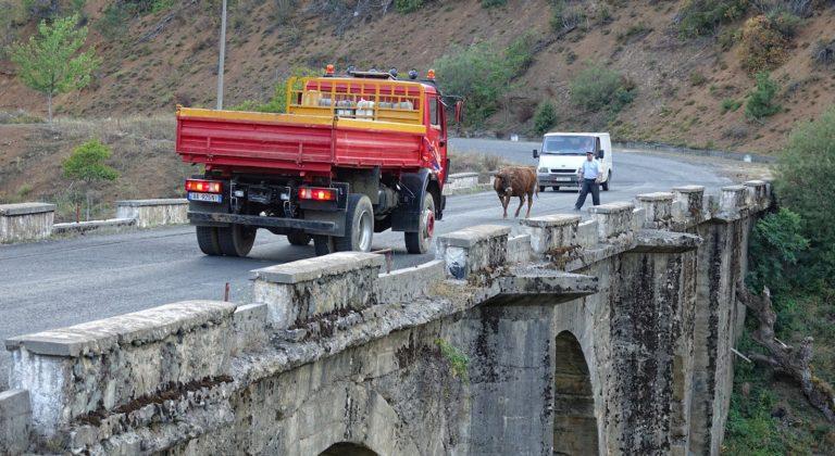 Albanian traffic jam.