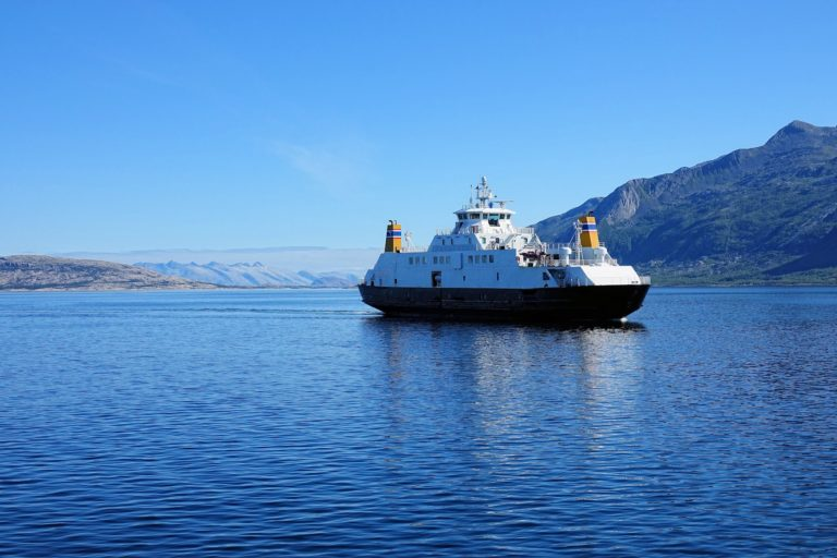 Typical Helgeland ferry. You will travel a lot on these if you travel along the coast.