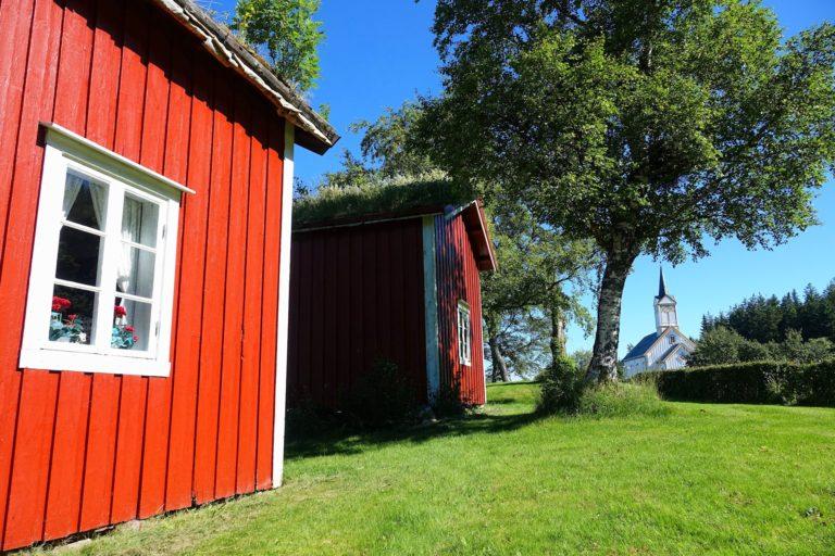 Heavy summer at Vevelstad Museum.