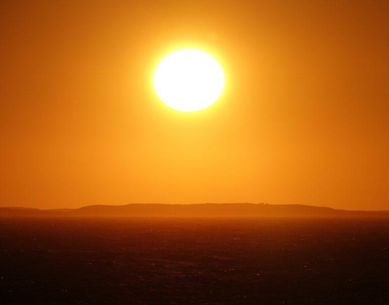 Sunset on Dønna.