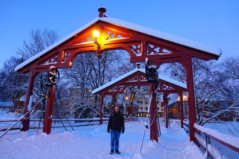 Bjørn on Gamle Bybru in Trondheim, Norway.