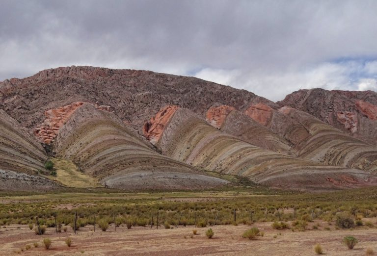Photo of Humahuaca mountains near the Argentina/Bolivia border.