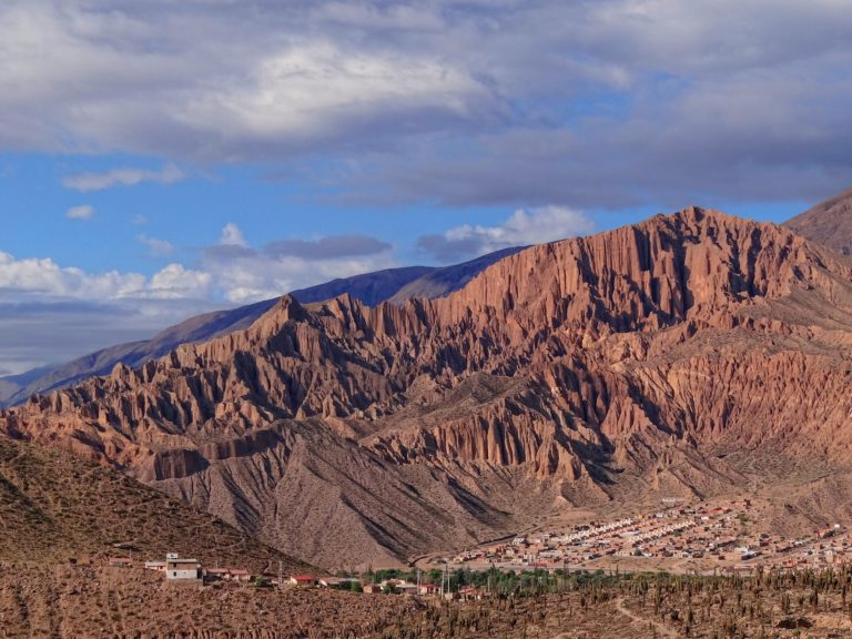 Rural neighborhood in the southern part of Tilcara, Jujuy, Argentina.
