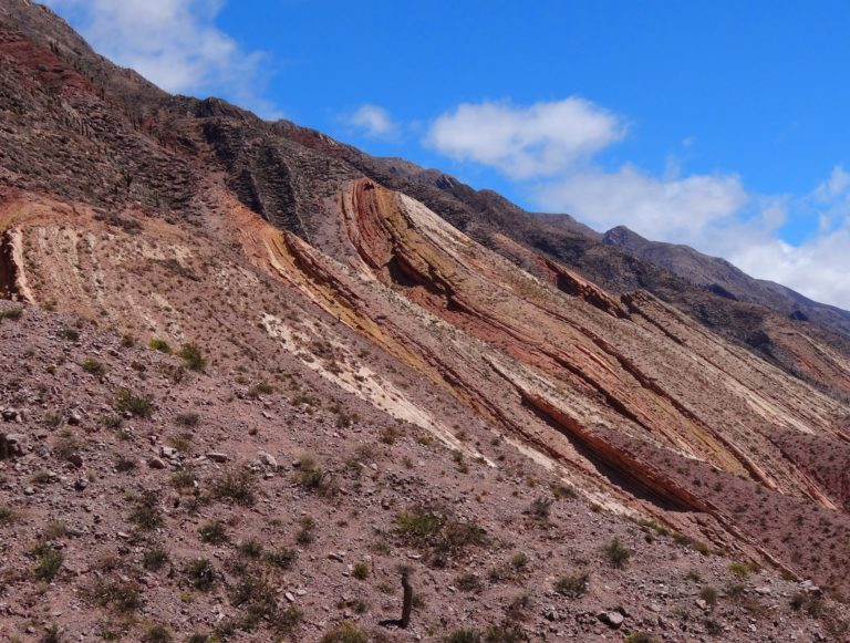 The waves of Quebrada Humahuaca in northern Argentina.