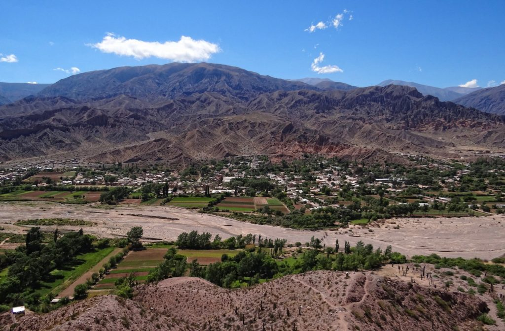 Maimares town, a small agricultural outpost in northern Argentina.