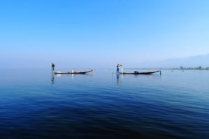 Inle Lake sometimes feels like an ocean.