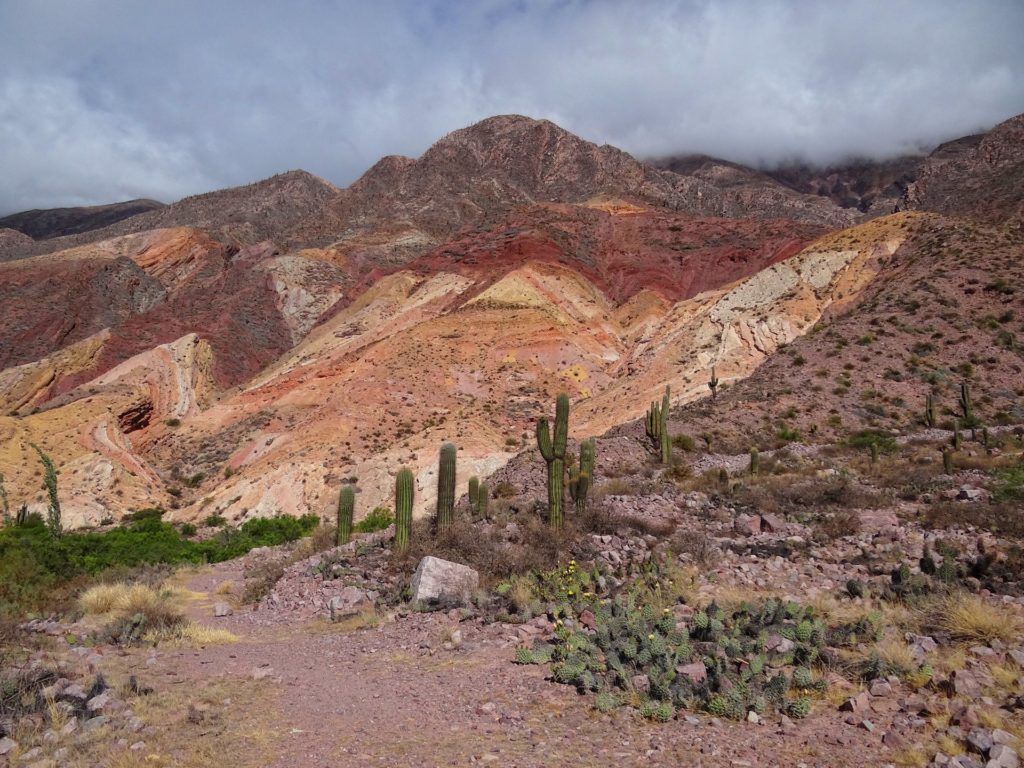 A mountain luring you in, using a broad range of colors.
