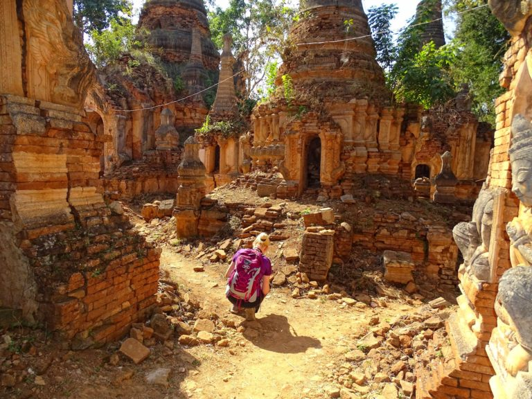 Myanmar is such a great place to feel like an explorer.