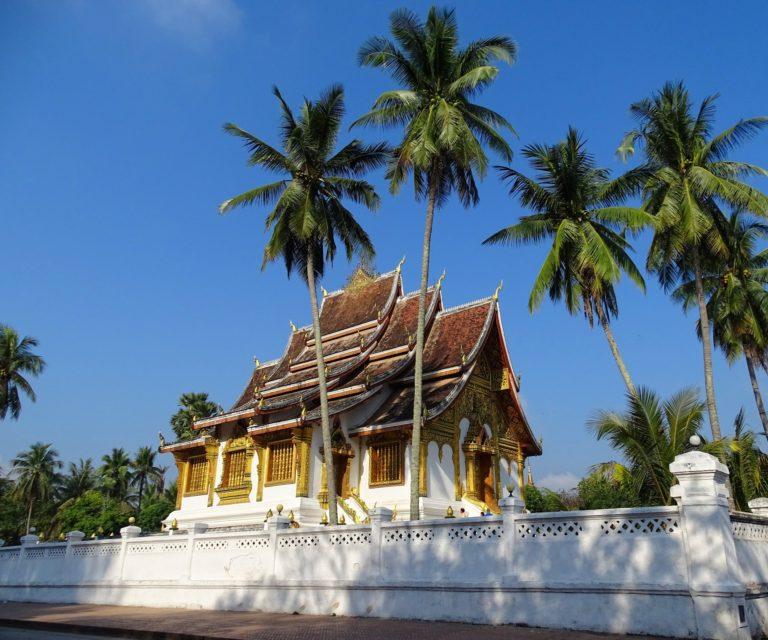 Haw Pha Bang in Luang Prabang, Laos