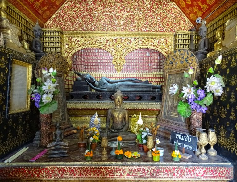 Pagoda interior from Luang Prabang, Laos