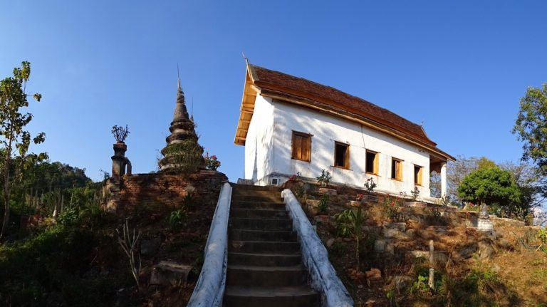 Photo of Wat Jom Phet on top of a hill