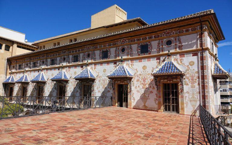 Gandia Palace exterior.