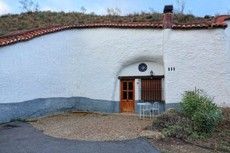 Cave for living in, near Guadix, Spain.