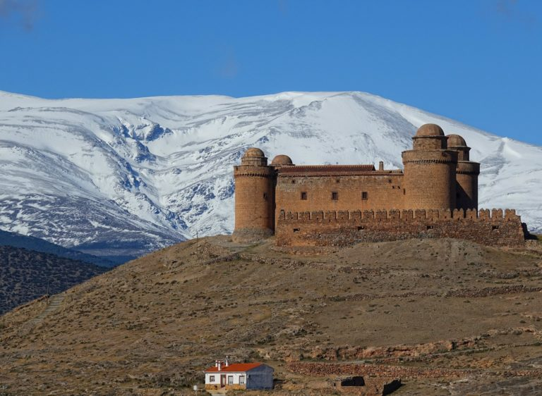 La Calahorra Castle, locally known as Castillo de La Calahorra.