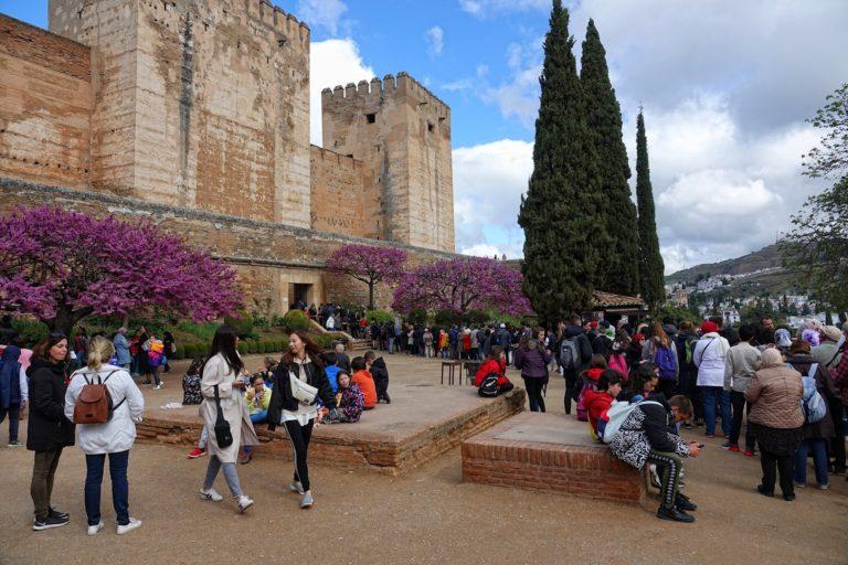 Alhabram in Granada is quite touristy.