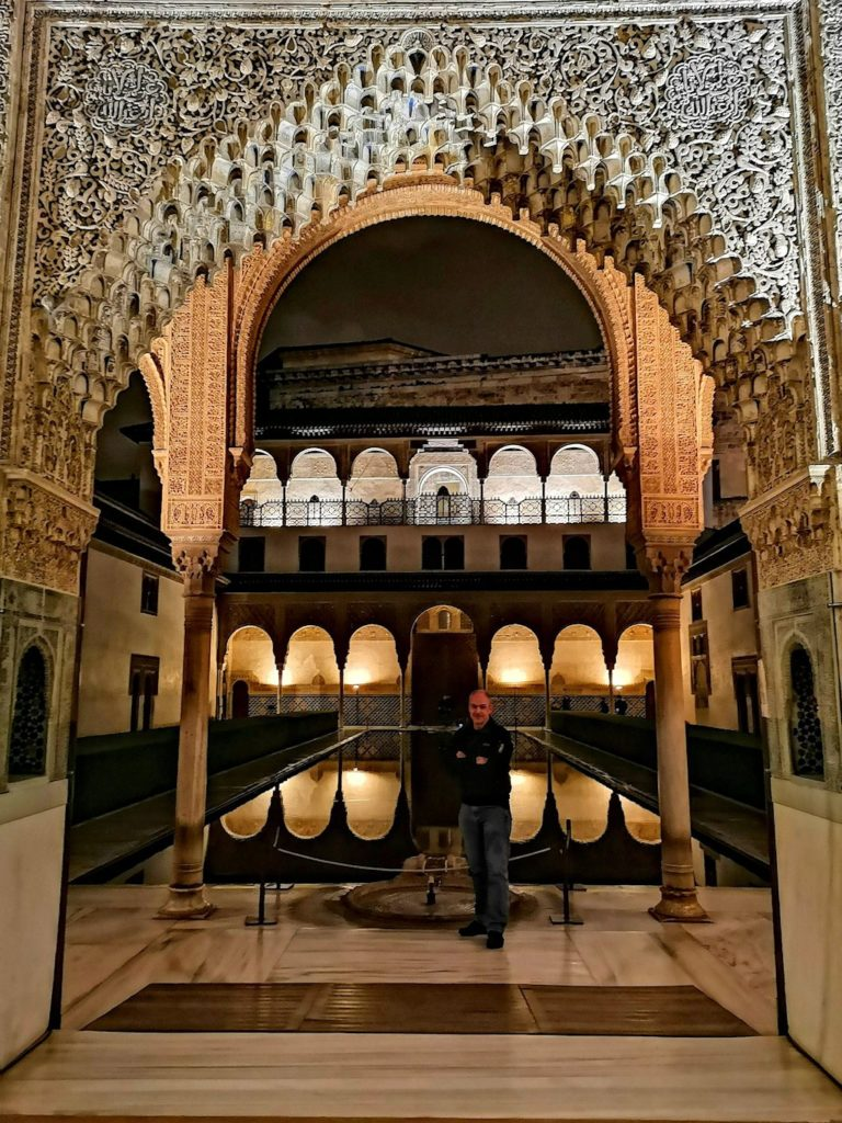 I'm in the Alhambra.