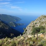 View from the Lycian Way near Alinca