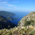 View from the Lycian Way near Alinca