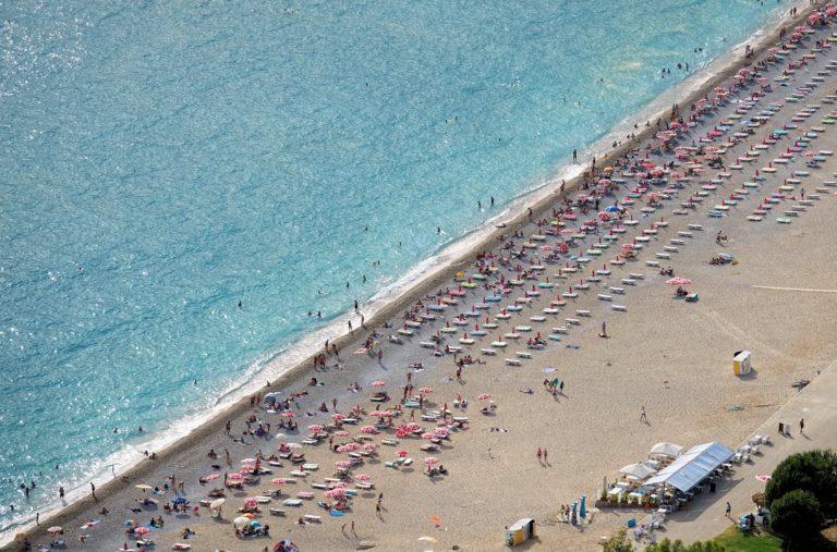Photo of Ölüdeniz beach, Turkey.
