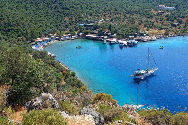 Photo of Limanagzi Beach near Kas, Turkey.