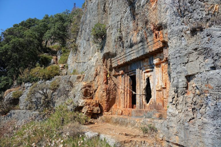 Photo of trail safety on the Lycian Way, Turkey.