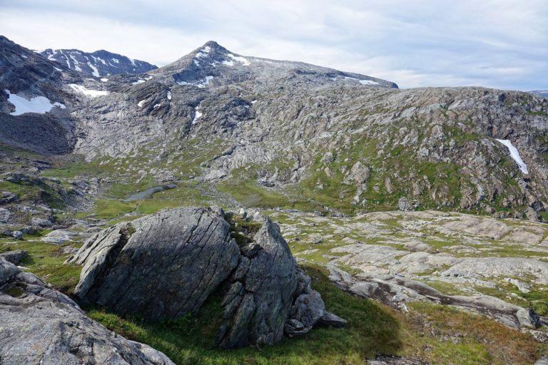 Majestic landscape in Lomsdal-Visten National Park.