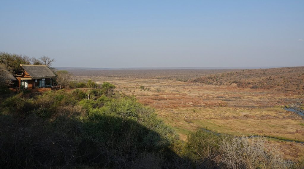 Photo of view from Olifants Rest Camp in Kruger Park, South Africa.