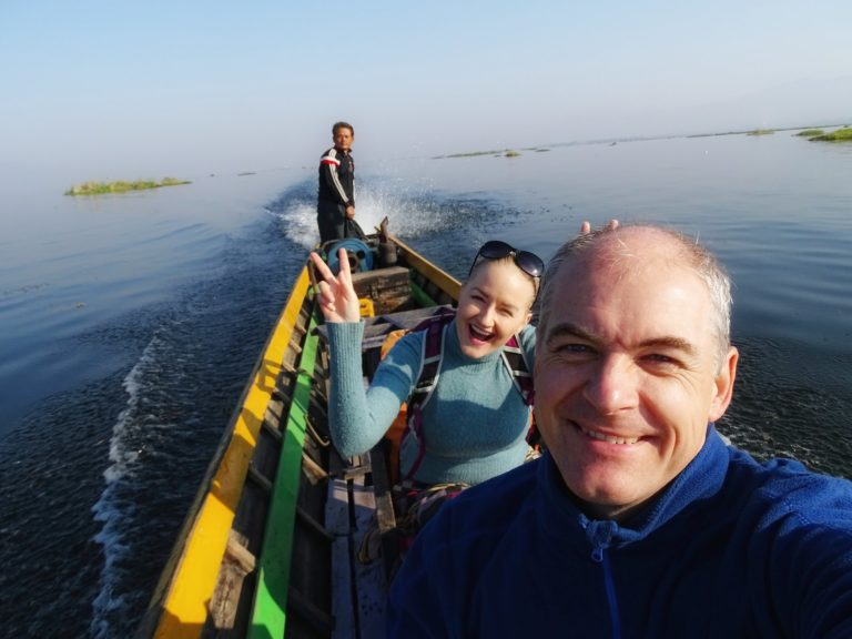 Photo of boat trip on Inle Lake in Myanmar