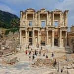 Photo of Library of Celsus in Ephesus, Turkey.